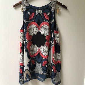 Floral Tank style Blouse